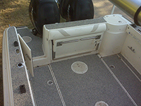 SafeFloor™ installed on Ray's boat